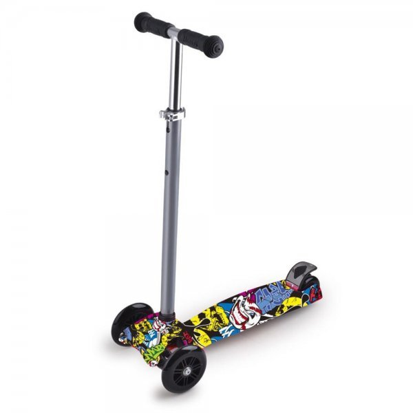 Patinete Scooter Net Max Racing Club Grafitado - Zoop Toys Zp00105