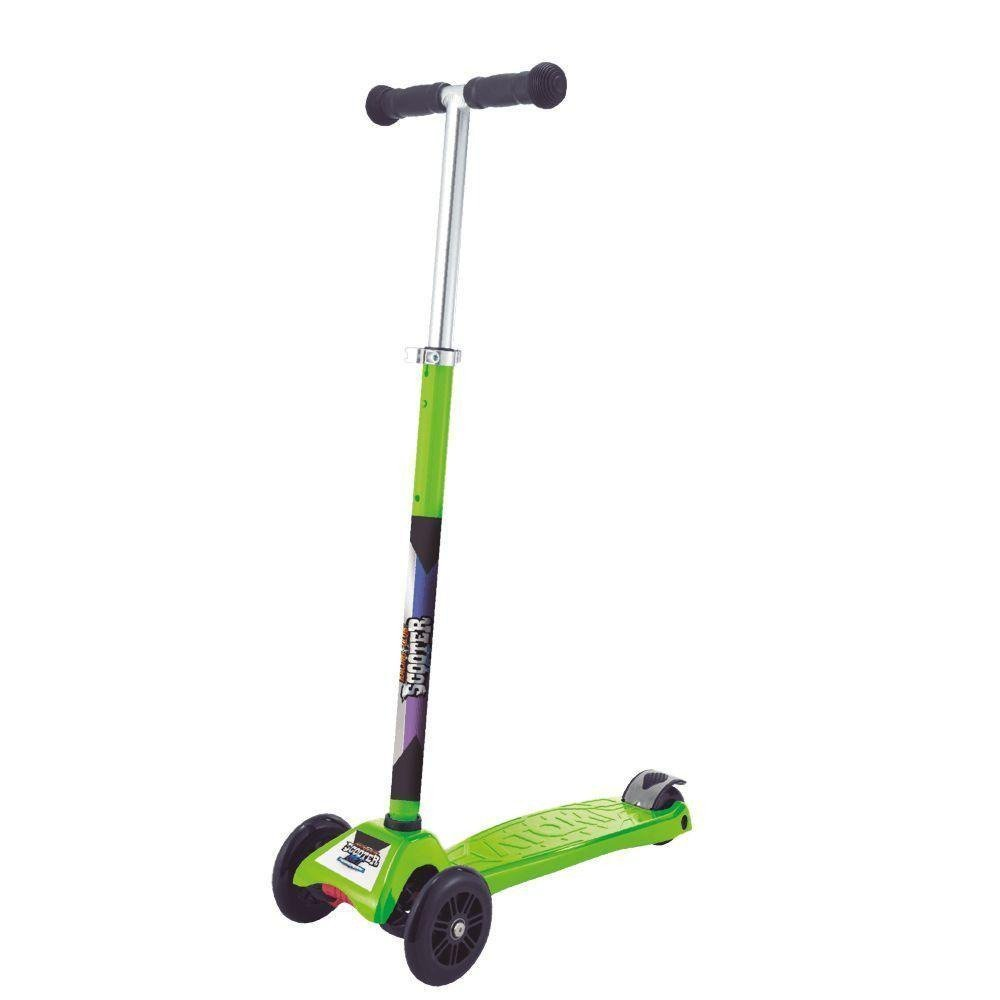 Patinete Scooter Net Max Racing Club Verde - Zoop Toys Zp00105