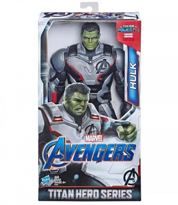 Boneco Hulk Titan Hero 30cm Avengers Endgame Ultimato - Hasbro E3304