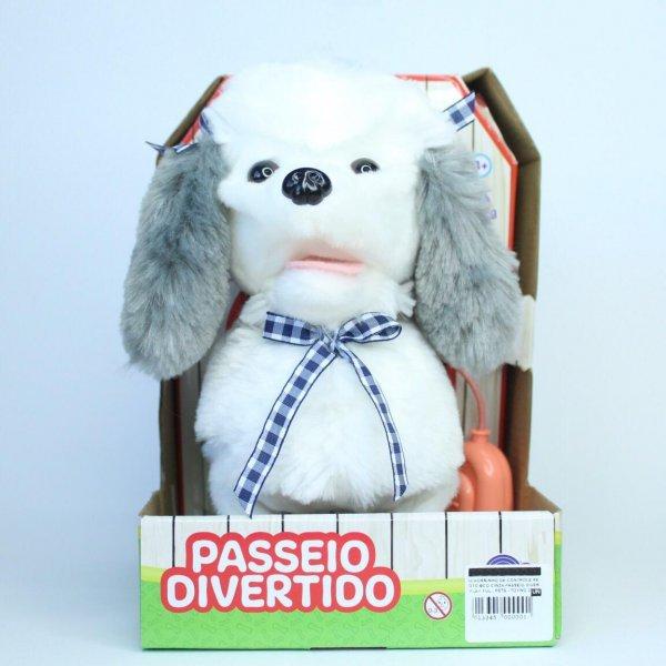 Cachorrinho De Controle Remoto Bco/cinza - Toyng 37212
