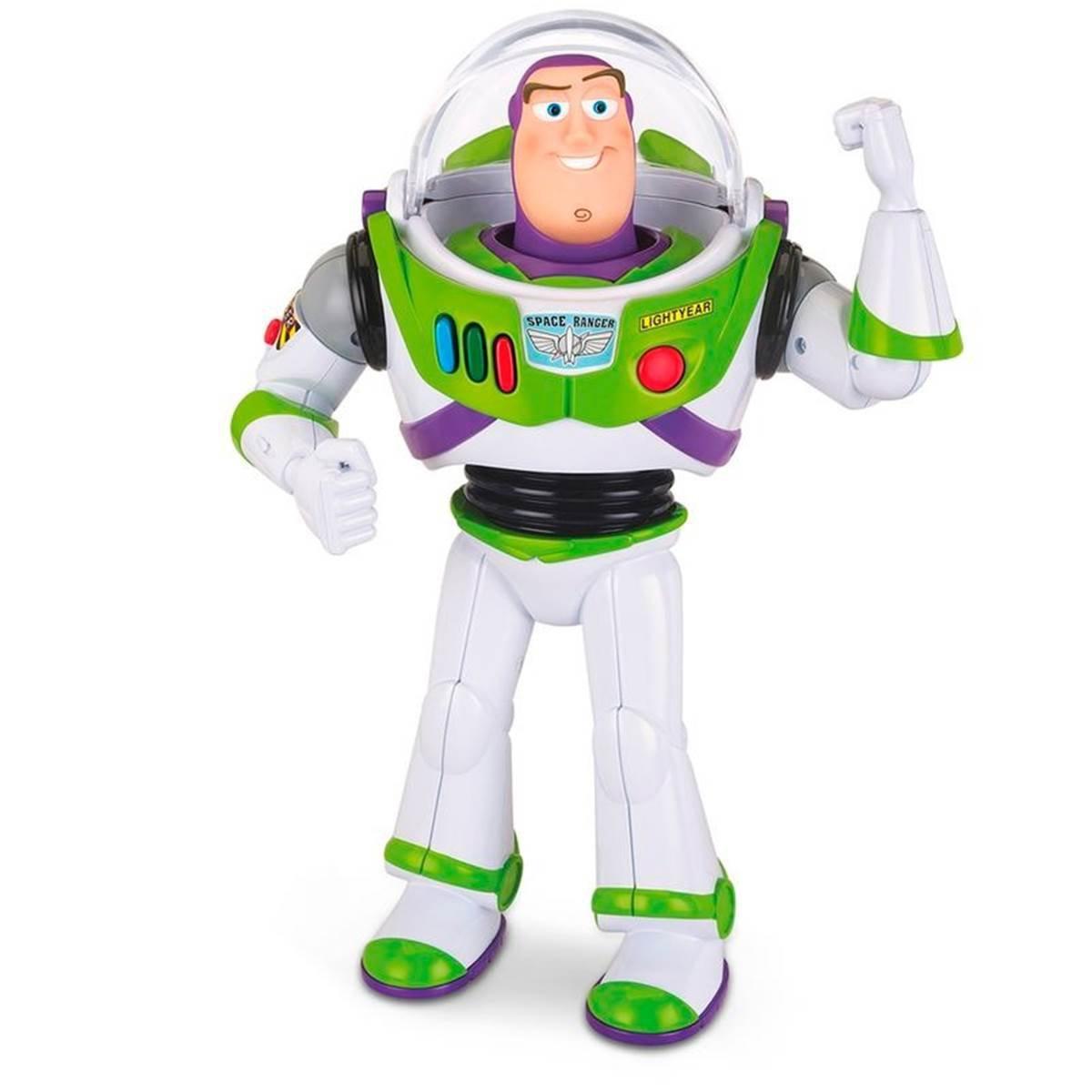 Boneco Buzz Lightyear Com Som Toy Story Disney - Toyng 35716