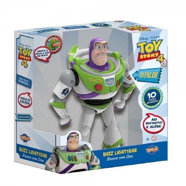 Boneco Buzz Lightyear Com Som Toy Story 4 - Toyng 38169