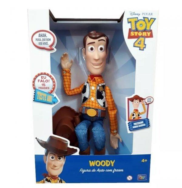 BONECO WOODY COM SOM TOY STORY DISNEY - 35727