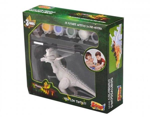 Dino Paint Dinossauro Para Colorir Dilofossauro - Zoop Toys