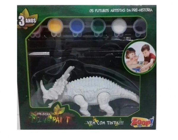 Dino Paint Dinossauro Para Colorir Estiracossauro