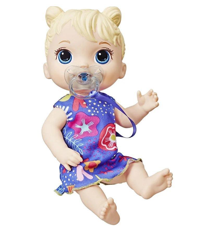 Boneca Baby Alive Primeiros Sons Loira - Hasbro E3690