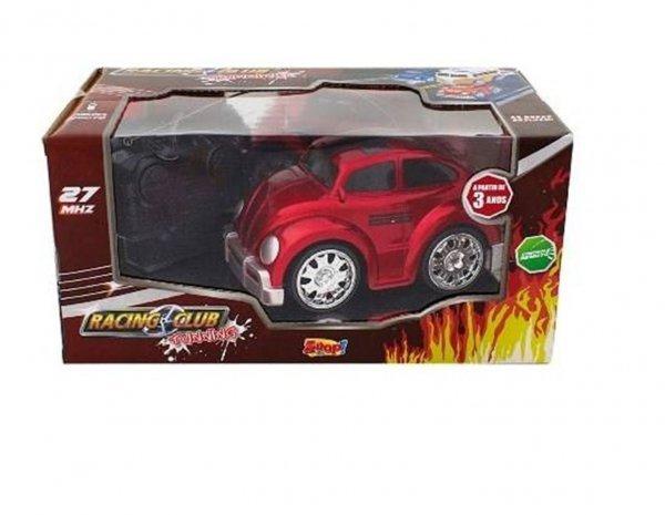 Carrinho De Controle Fusca Vermelho Racing Club - Zoop Toys Zp00117
