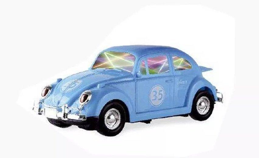 Fusca Azul Bate E Volta Som E Luzes - Zoop Toys Zp00221