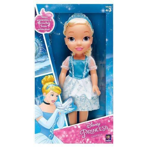 Boneca Minha Primeira Princesa Real Cinderela - Mimo 6500