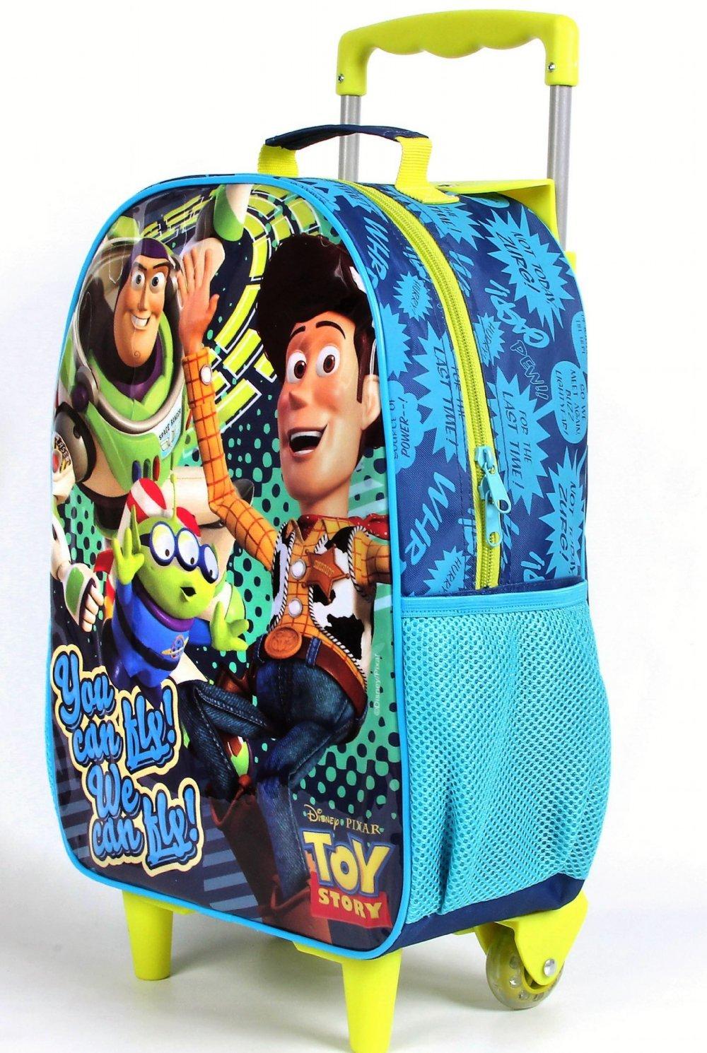 Kit Mochila De Rodinhas Infantil Toy Story + Lancheira + Estojo - Dermiwil