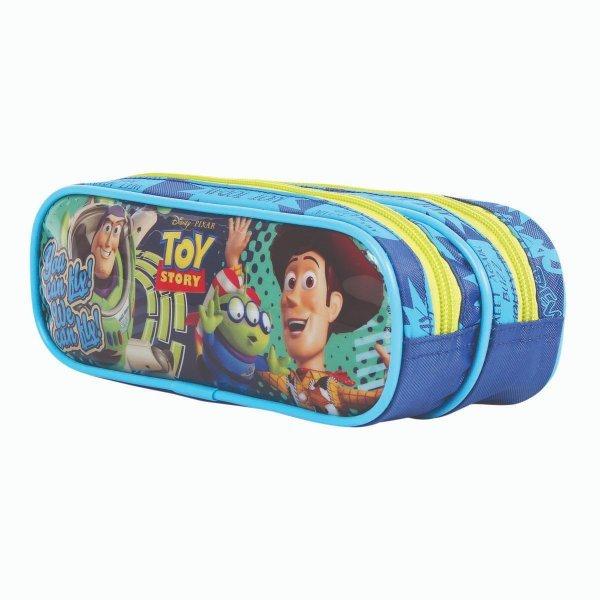Estojo Escolar Toy Story 2 Divisórias - Dermiwil 52176