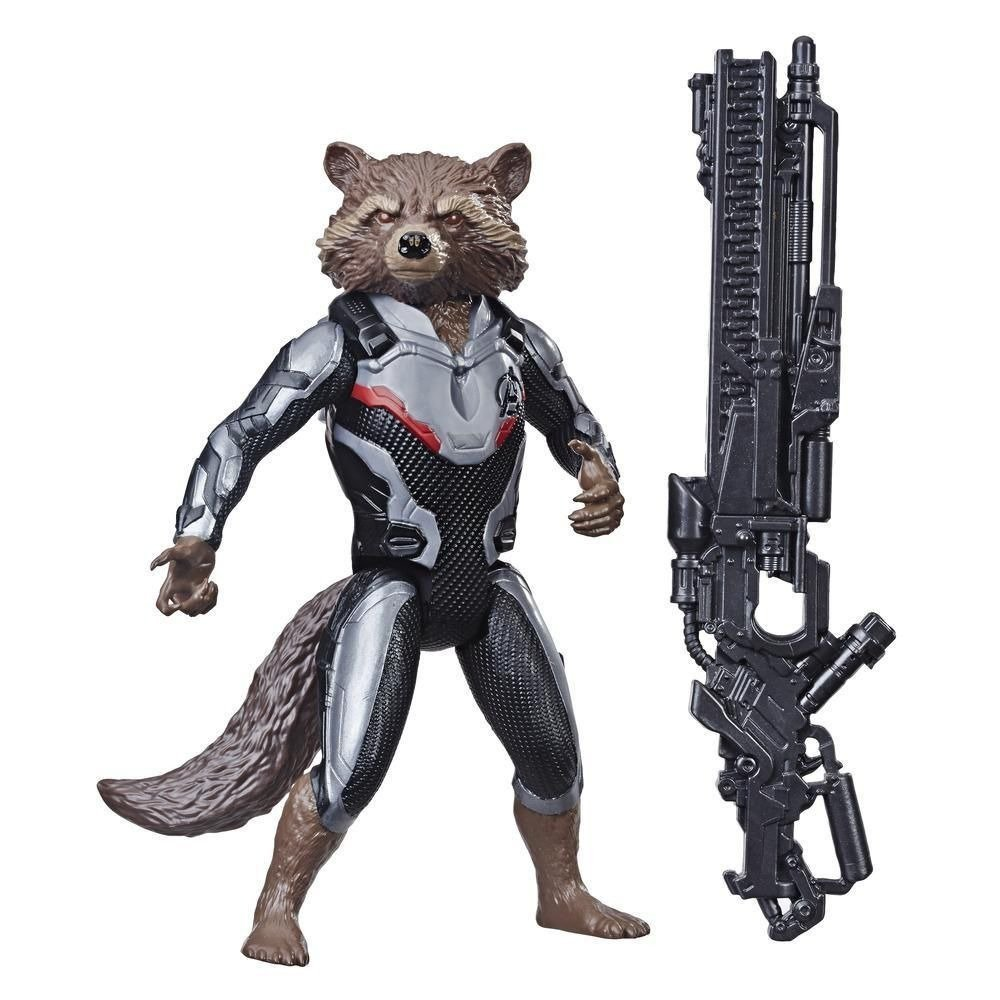 Boneco Rocked Raccoon Titan Hero Avengers End Game Ultimato - Hasbro E3917