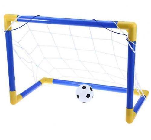 Trave De Gol Com Bola De Futebol 79cmx50cm - Dmtoys Dmt5076