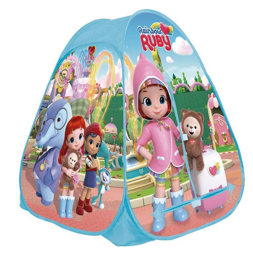 Barraca Portatil Rainbow Ruby - Zippy Toys Bp18rr
