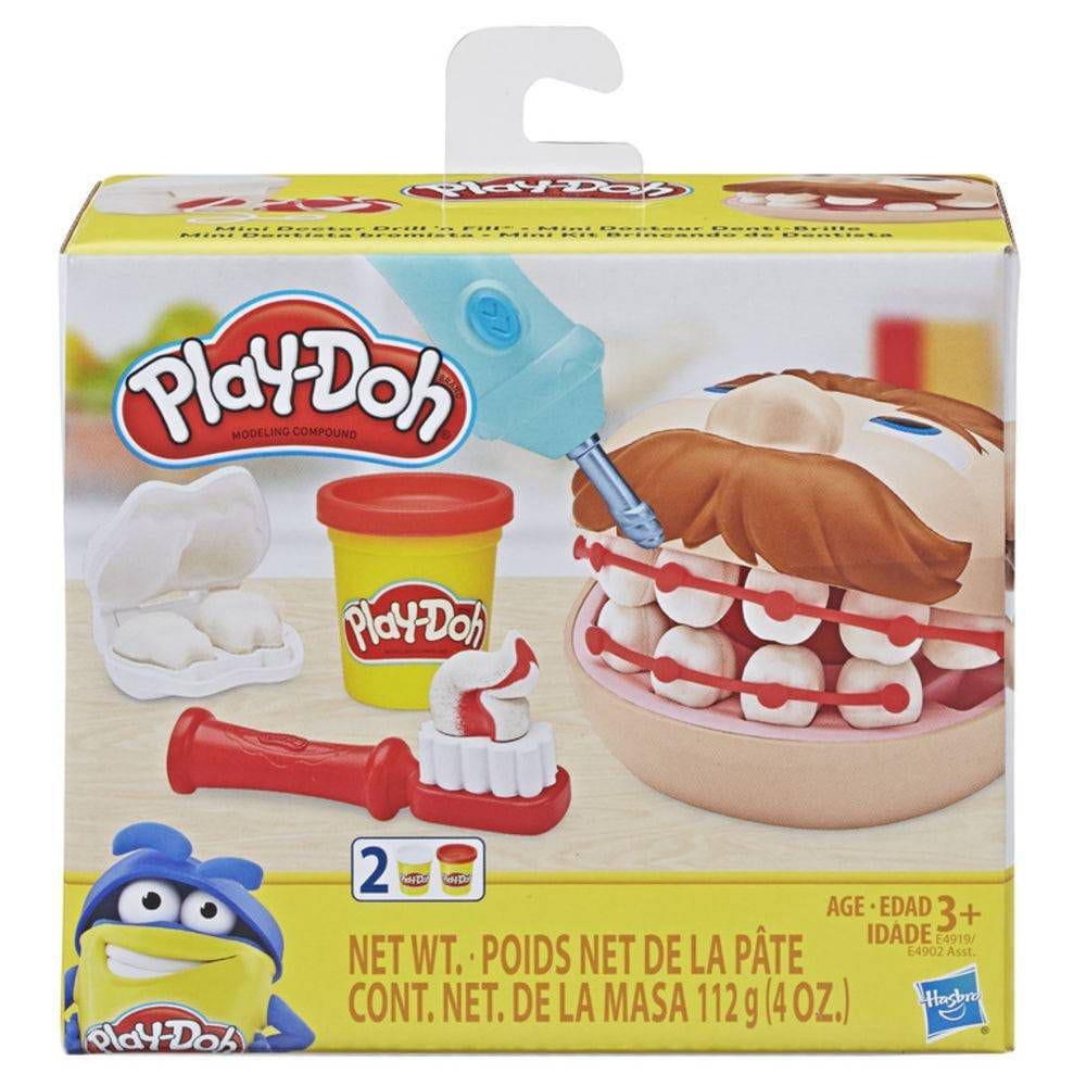 Massinha Play Doh Mini Dentista - Hasbro E4919