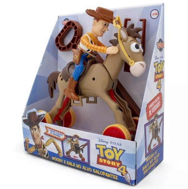 Boneco Woody E Cavalo Bala No Alvo Galopantes - Toyng 22747
