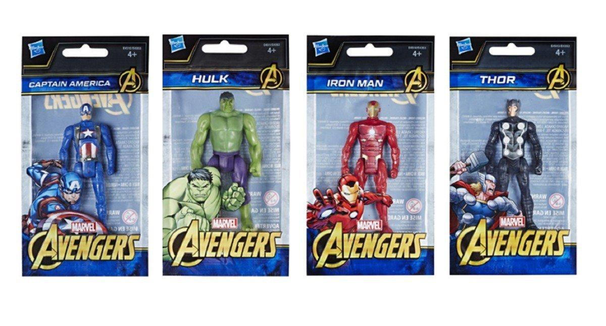 Mini Boneco Thor 10cm Avengers - Hasbro E4513