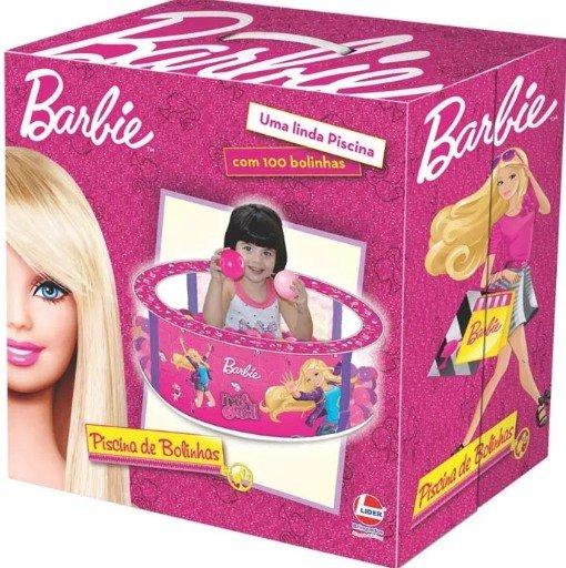 Piscina De Bolinha Barbie - Lider 2103