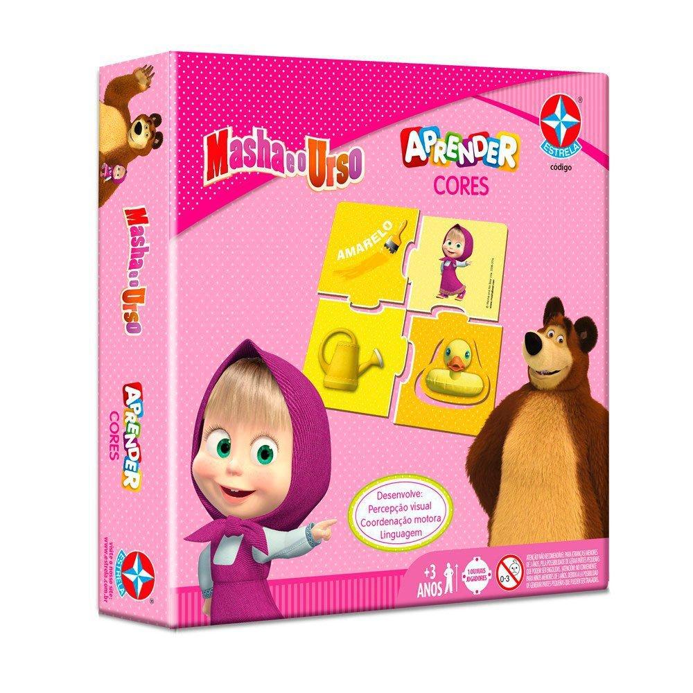 Jogo Aprender Cores Masha E O Urso - Estrela 1300054