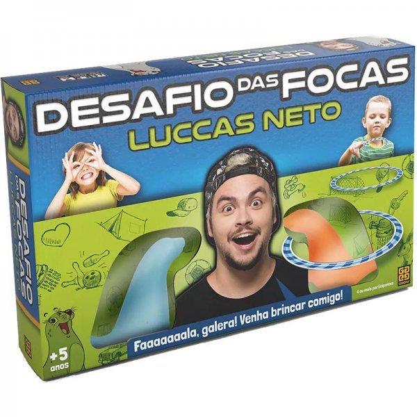 JOGO DESAFIO DAS FOCAS LUCCAS NETO - GROW 03639
