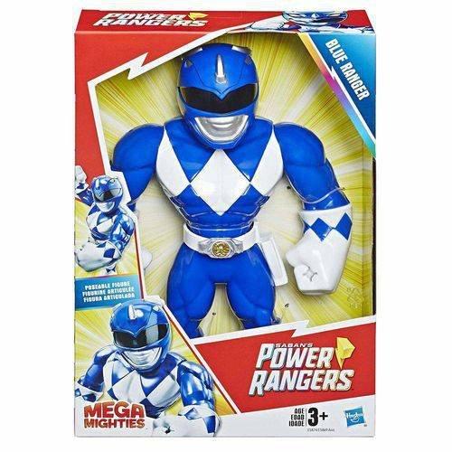 Boneco Playskool Heroes Power Rangers - Azul - Mega Mighties - Hasbro E5874