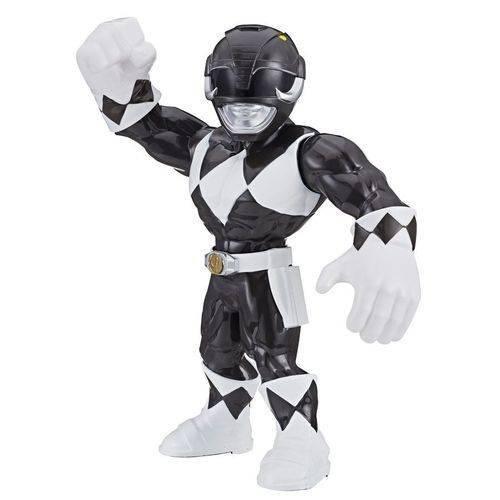 Boneco Playskool Heroes Power Rangers - Preto - Mega Mighties - Hasbro E5873