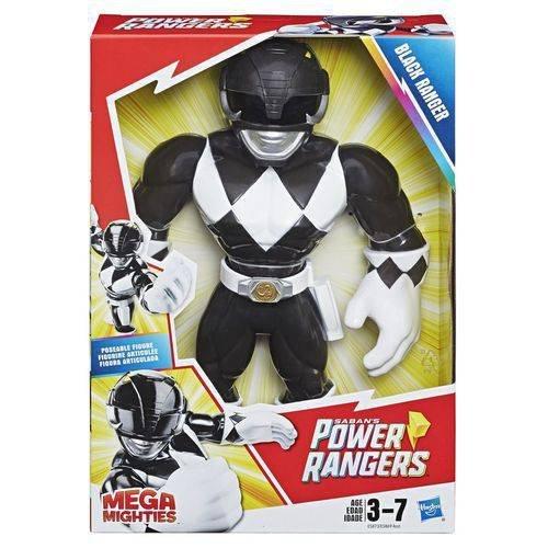 Boneco Playskool Heroes Power Rangers - Preto - Mega Mighties