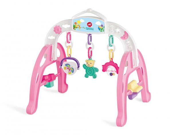 Centro De Atividades Baby Gym Rosa - Calesita 0918