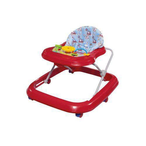Andador Toy Vermelho - Tutti Baby 2003.24