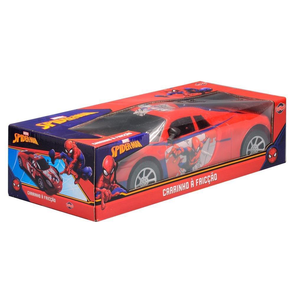 Carrinho Fricção Homem Aranha Vermelho - Toyng 32636
