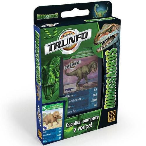 Jogo Super Trunfo Dinossauros - Grow 01402