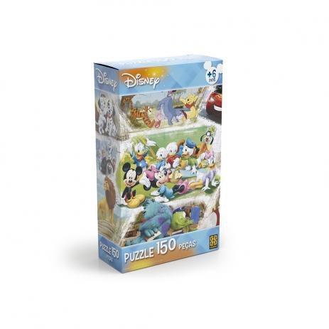 Quebra Cabeça Puzzle Disney 150 Peças - Grow 02448