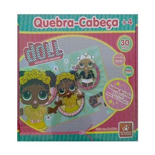 Quebra Cabeça 30 Peças Doll - Brincadeira De Criança 1959