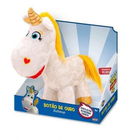 Pelúcia Unicórnio Botão De Ouro Toy Story 4 - Toyng 38246