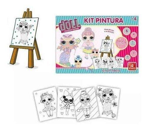 Kit Pintura Doll - Brincadeira De Criança