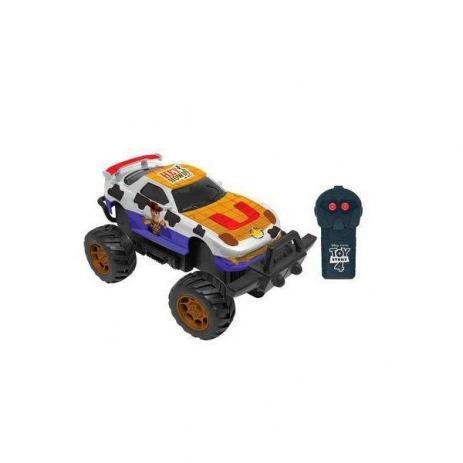 Carrinho De Controle Remoto Toy Story 4 Woody Bull Driver - Candide 4909