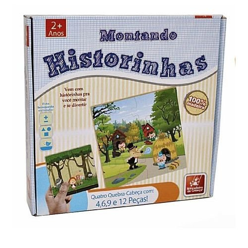 Montando Historinhas - Brincadeira De Criança 8412