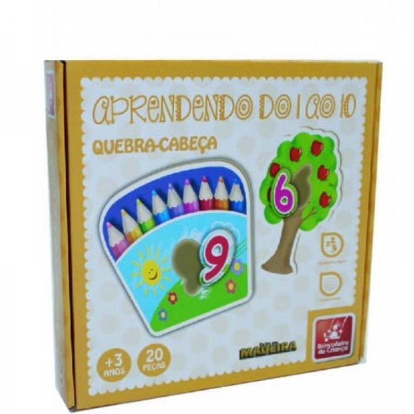 Jogo Números Do 1 Ao 10 - Brincadeira De Criança 9312