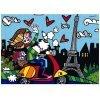 Quebra-cabeça Romero Britto Paris 1000 Peças - Grow 03746