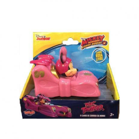 Carrinho Minnie - Mickey Aventuras Sobre Rodas - Hot Road - Toyng 33450