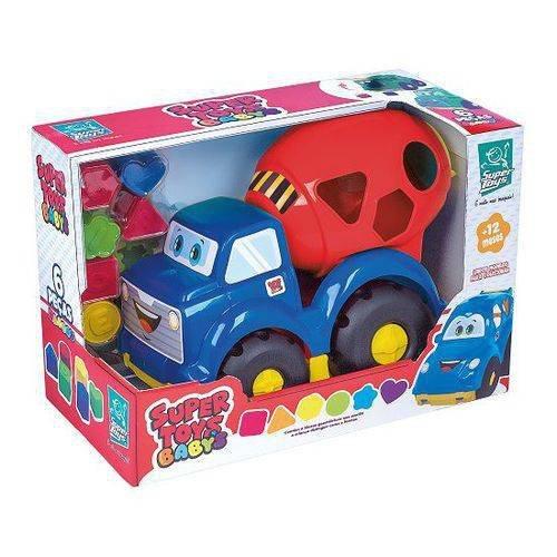 Caminhão Betoneira Baby - Super Toys 389