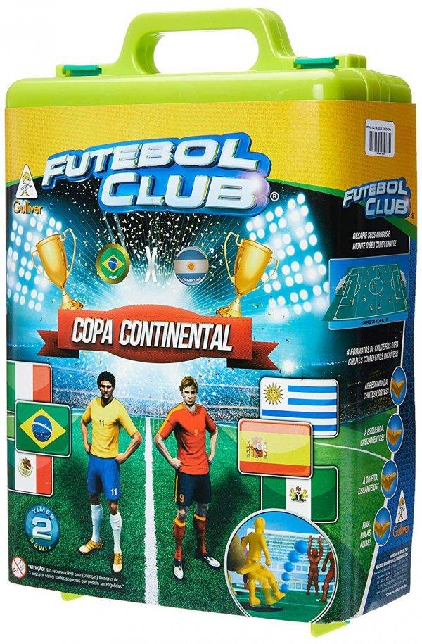 Futebol De Botão Club Seleções Brasil X Argentina Colorido - Gulliver 1962
