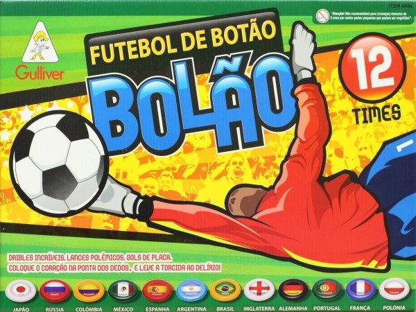 Futebol De Botão Bolão Com 12 Times Mundial - Gulliver 0456