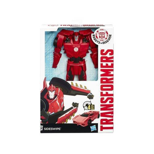 BONECO TRANSFORMERS SIDESWIPE ROBOTS IN DISGUISE