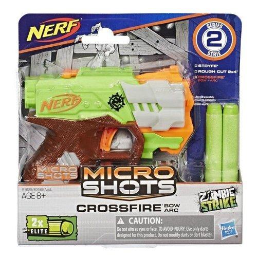 Nerf Microshot Crossfire Lança Dardo - Hasbro E1625