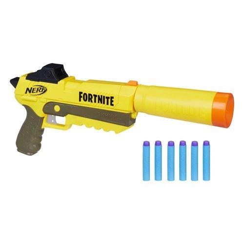 Nerf Fortnite Sp-l Sneaky Spring Lançador De Dardo Elite Dart Blaster - Hasbro E7063