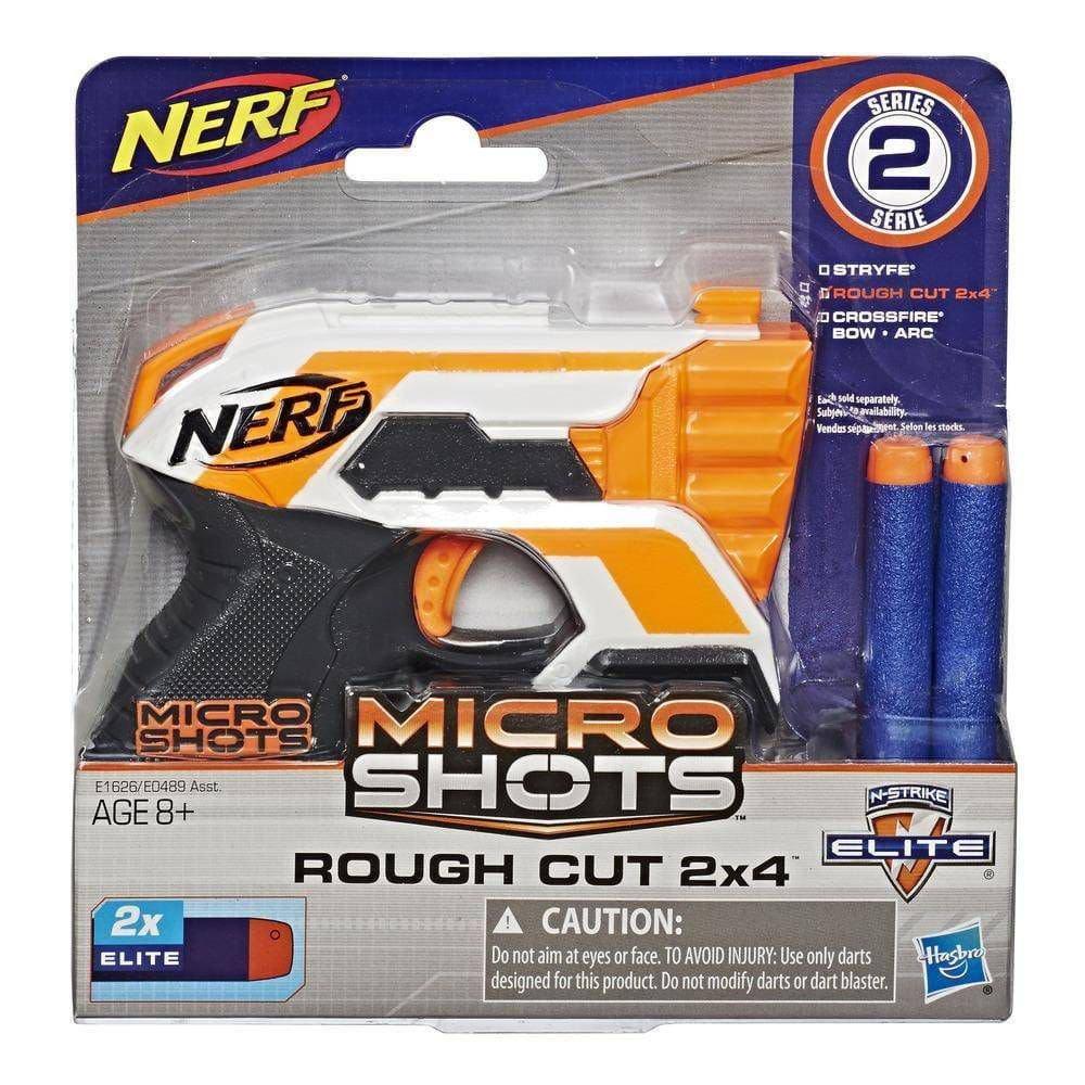 Nerf Microshot Rough Cut Lança Dardo - Hasbro E1626