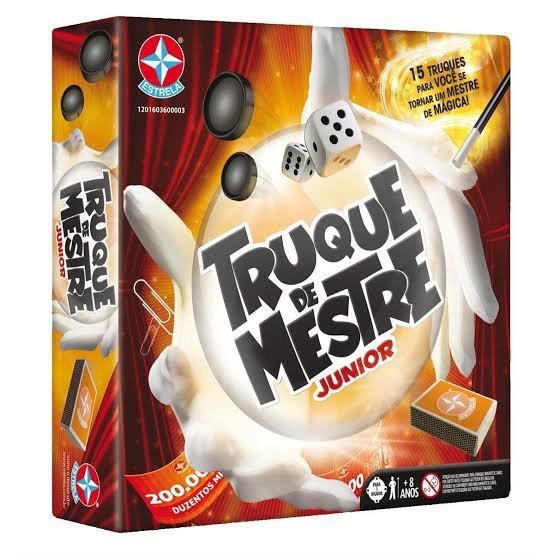 Jogo Truque De Mestre Jr - Estrela 3100055