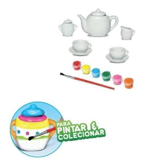 Kit De Chá Art Craft Tea Party Co - Zoop Toys Zp00229