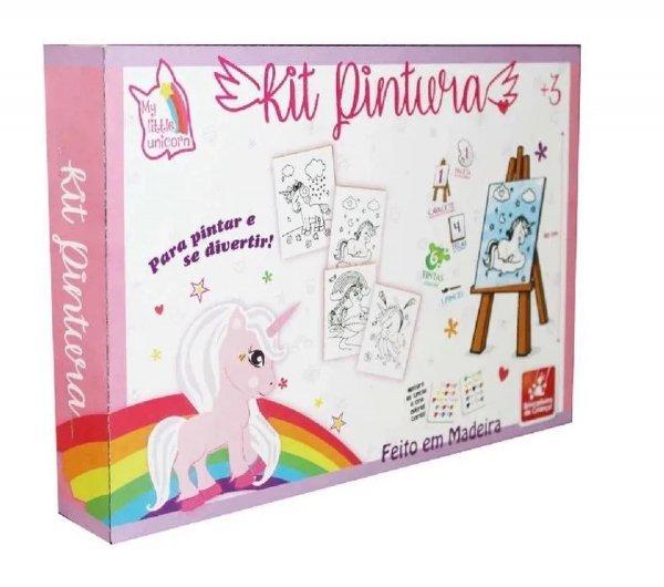 Kit Pintura Unicórnio - Brincadeira De Criança 0985
